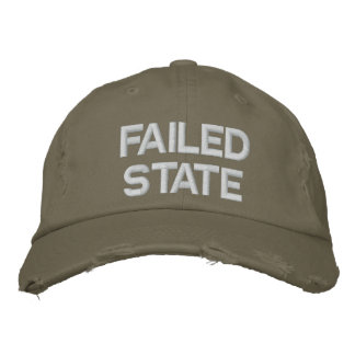 Failed State Embroidered Hat