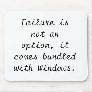 Failure ice's note an option, it comes bundled wit mouse pad