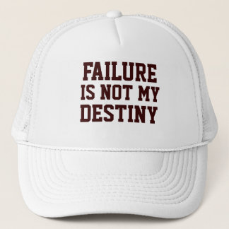 Failure Is Not My Destiny Men's - Women's Pink Hat