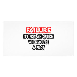 Failure...Not an Option...Pilot Photo Cards