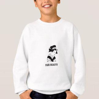 fair beauty woman sweatshirt