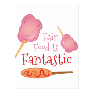 Fair Food Postcard