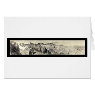 Fair Glacier Colorado Photo 1921 Card