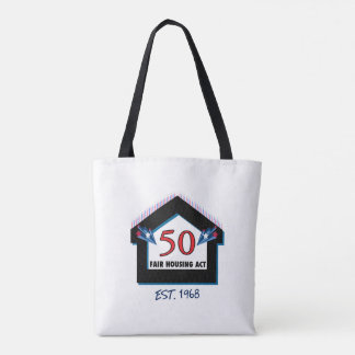 Fair Housing 50 (candles) - Tote bag