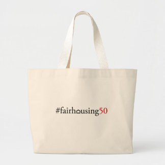 Fair Housing 50 (hashtag) - Tote bag