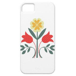 Fair isle floral pattern folk art folkart print iPhone 5 covers