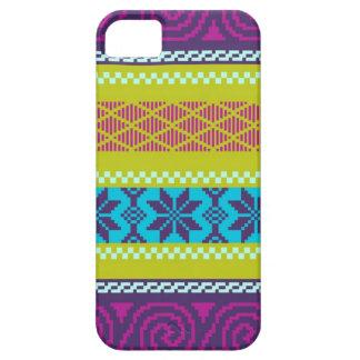 Fair Isle Stripe in Metro iPhone 5 Cover