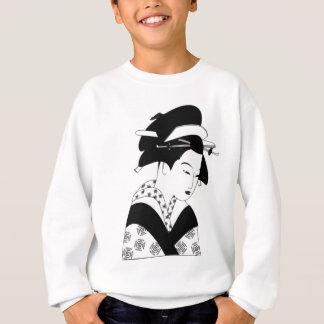 fair japanese goddess sweatshirt