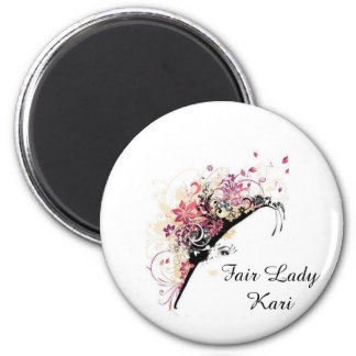 Fair Lady Personalize Party Favor Magnet
