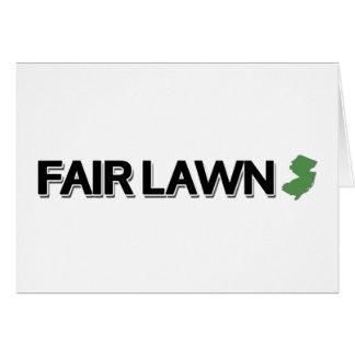 Fair Lawn, New Jersey Card