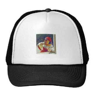 fair maiden leans cap