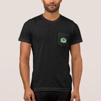 Fair Oaks History Museum Green Logo Pocket t-shirt