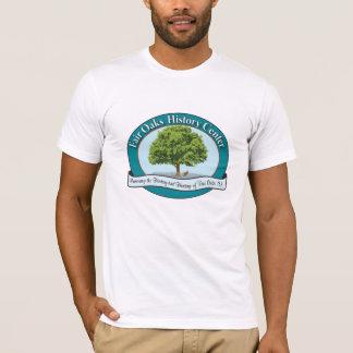 Fair Oaks History Museum Teal Logo T-Shirt