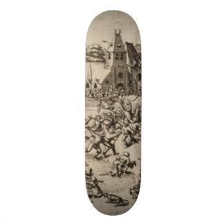 Fair of Saint George's Day by Pieter Bruegel Custom Skate Board