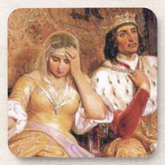 fair queen and king coaster