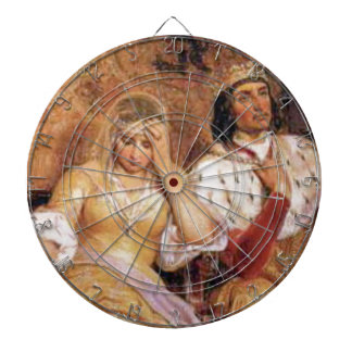 fair queen and king dartboard