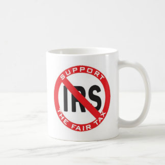 fair tax coffee mug