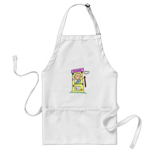 Fair Ticket Booth Tshirts and Gifts Aprons