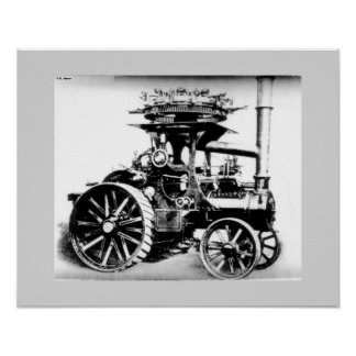 Fair Traction Engine Poster