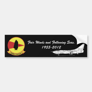 Fair Winds and Following Seas. Bumper Sticker