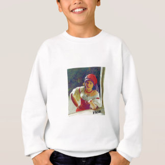 fair woman at window sweatshirt