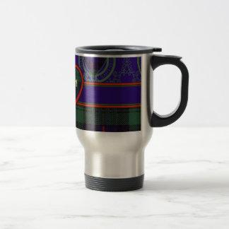 Fairbairn clan Plaid Scottish kilt tartan Stainless Steel Travel Mug