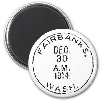 Fairbanks Ghostmark 6 Cm Round Magnet