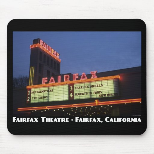 Fairfax Theatre Mousepad