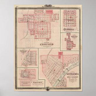 Fairfield, Carroll, Birmingham, Dunlap Poster