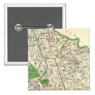 Fairfield Co N 15 Cm Square Badge