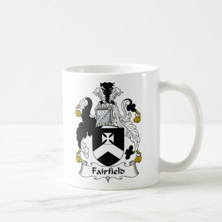 Fairfield Family Crest Coffee Mug