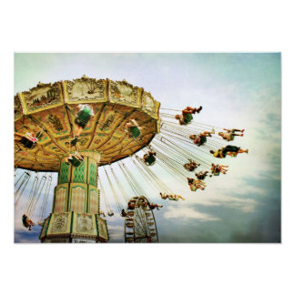 Fairground Swing poster