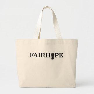 Fairhope grocery tote/bag - upside down pineapple large tote bag