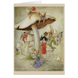 Fairies and Toadstools, Card
