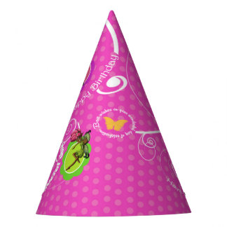 Fairies Birthday Party Hat