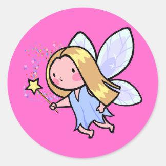 Fairies Classic Round Sticker