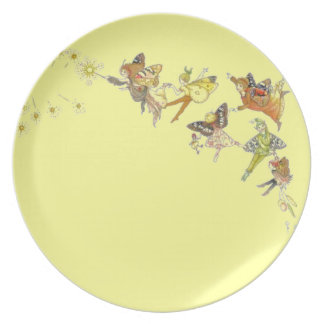 Fairies, elves and sprites plate