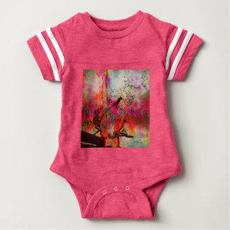 Fairies Spreading Daisy Seeds Baby Bodysuit