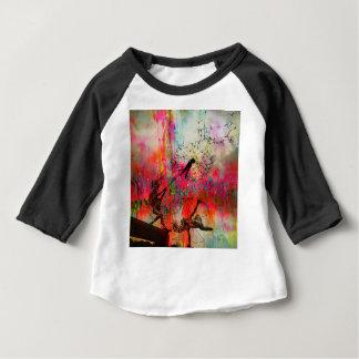 Fairies Spreading Daisy Seeds Baby T-Shirt