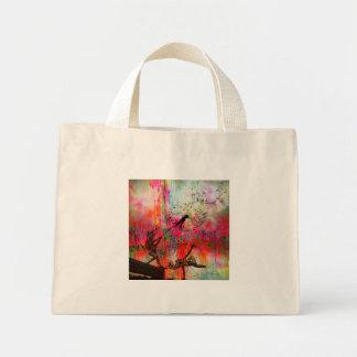 Fairies Spreading Daisy Seeds Mini Tote Bag