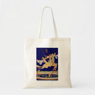 """""""Fairies Swing"""" Canvas Tote Bag"""