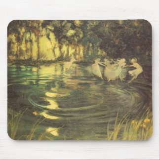 Fairies Whirl by Arthur Black, Vintage Fairy Dance Mouse Pads