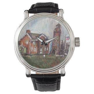 Fairport Harbor, OH Painting on a Watch