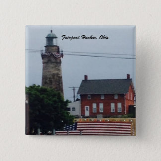 Fairport Harbor, Ohio 4th of July  photo button