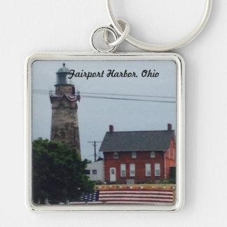 Fairport Harbor, Ohio 4th of July  photo Key Chain