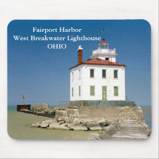 Fairport Harbor West Breakwater Light Mousepad