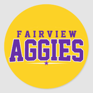 Fairview High School; Aggies Stickers