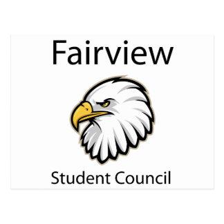 Fairview Student Council Postcard