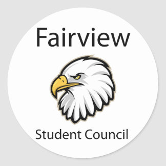 Fairview Student Council Stickers