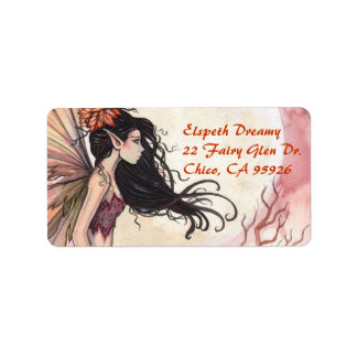 Fairy Address Labels Gift Tags